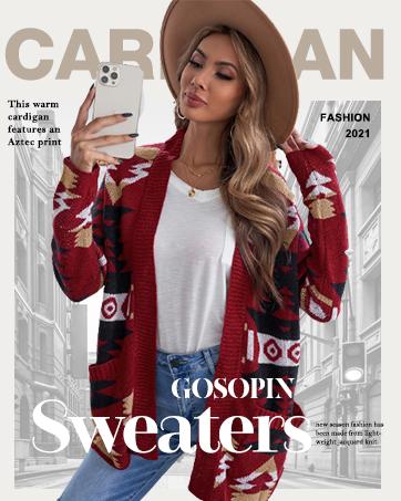 Women Chic Thick Warm Knit Sweater Cardigan