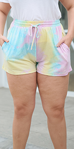 Nemidor Womens Plus Size Casual Sport Yoga Summer Athletic Dolphin Shorts with Pocket
