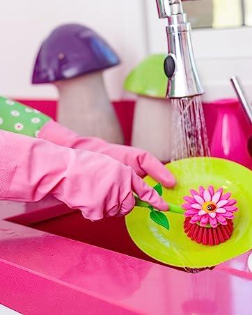 Flower Power Kitchen and Bathroom Accessories