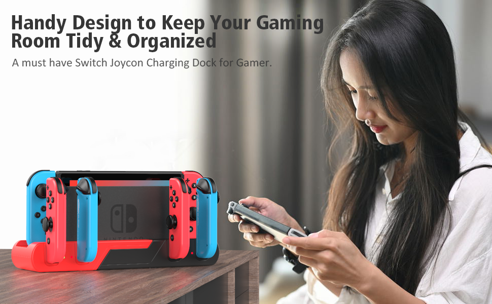 Switch joycon controller charger