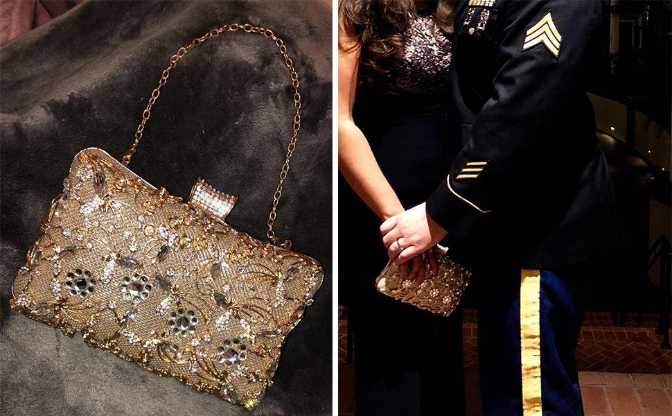 tanpell evening clutch bag