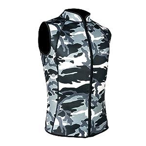 wetsuit vest diving tops surfing suit canoeing suit wet suit tops scuba diving swimsuit
