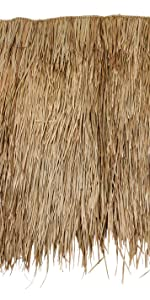 Mexican Straw Grass Thatch - Sheets