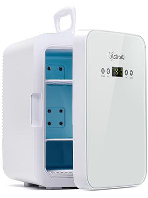 mini fridge white 10 ltr