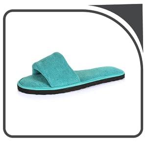 MF Home Footwear Women's House Slippers Open Toe comfortable Soft Sole SPN-FOR1