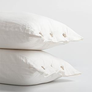 button pillowcase