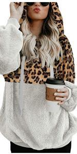B08DCF11GG Pullover Fuzzy Sweatshirt