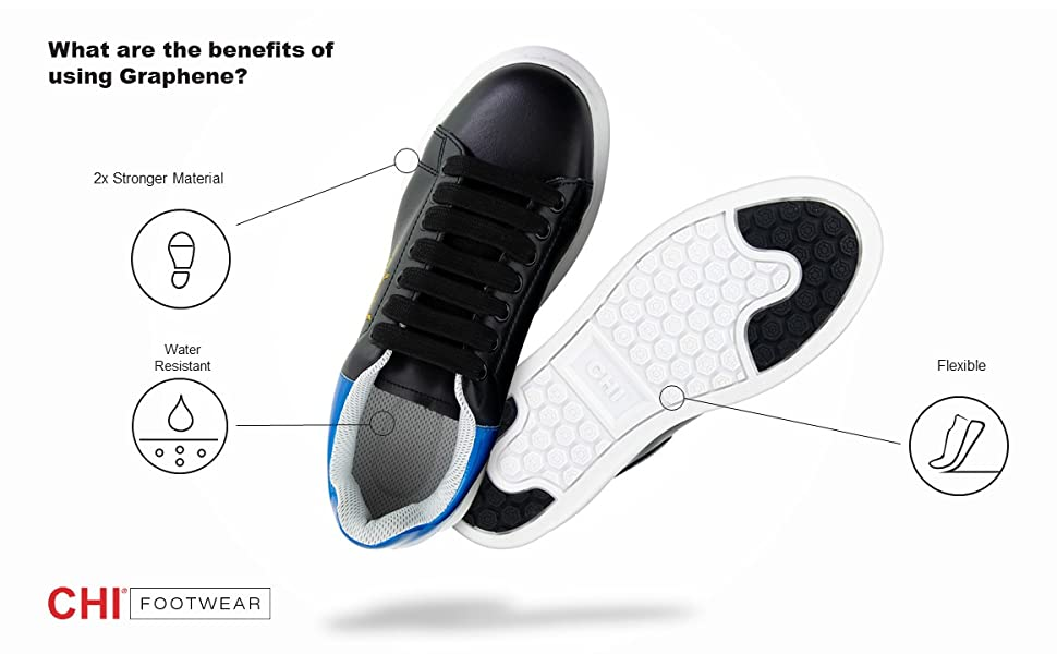 chi, footwear, graphene, shoes