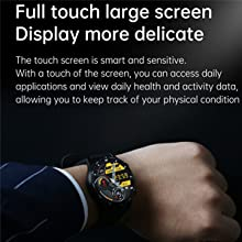 Full Touch Large Screen Fitness Watch