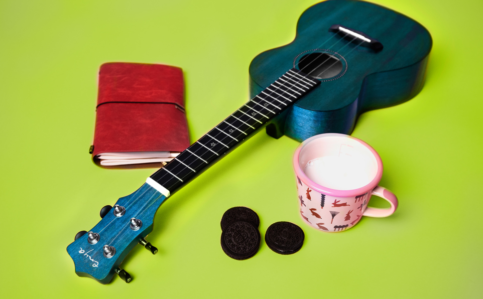 Enya concert 25D mahogany ukulele