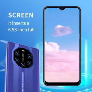It inserts a 6.53 inch full screen