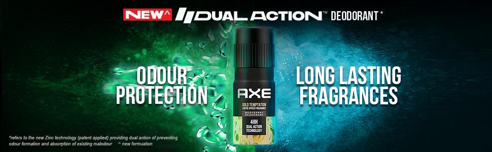 Axe Gold Temptation Long Lasting Deodorant Bodyspray For Men 215 ml