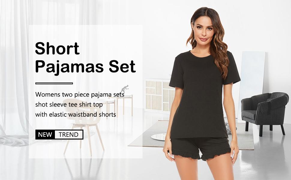 Short Pajamas Set