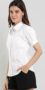 Puff Sleeve Work Shirt