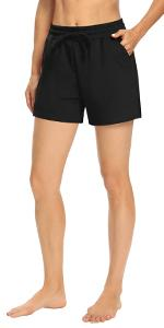 Shorts for women casual summer Shorts for women loose fitting drawstring shorts for women workout