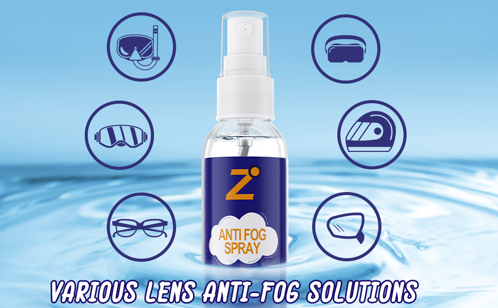 Anti Fog Spary for goggles