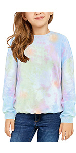 Kids Girlamp;#39;s Tops Long Sleeve Cute Fashion Pullover Sweatshirts