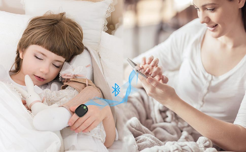 smart Bluetooth kidsO2ring