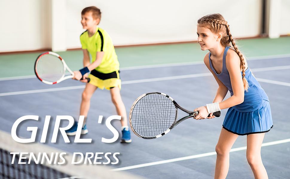 girl's tennis dress
