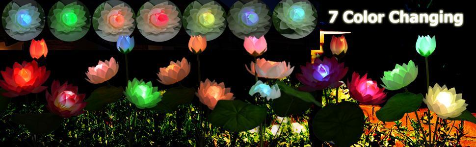 Solar Yard Decoration Lights