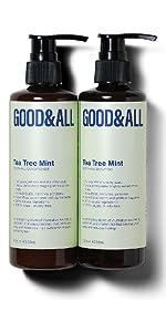 GOODamp;amp;amp;ALL tea tree mint shampoo and conditioner set