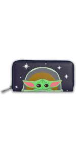Wallet bag Yoda Baby Grogu Mandalorian Licensed Wallet Cosplay Star Wars Disney Zipper Bifold