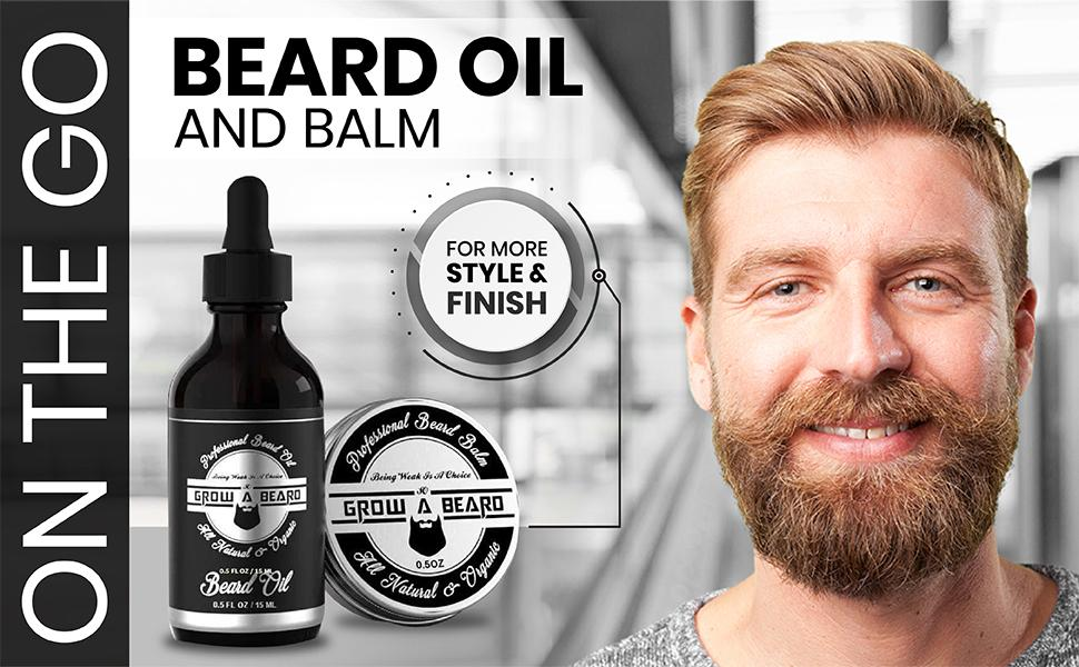 Beard Oil, Beard Balm