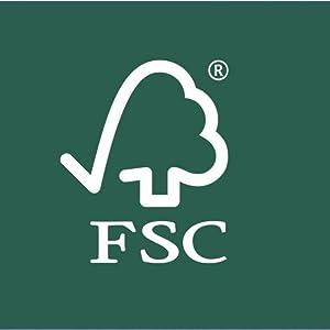FSC bois naturel non traite non verni a decorer
