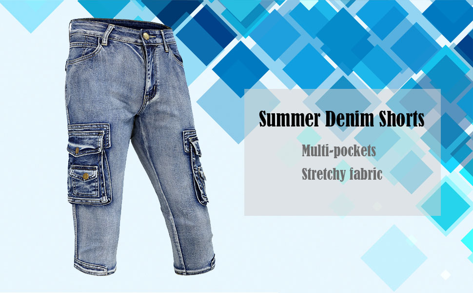 summer jeans shorts