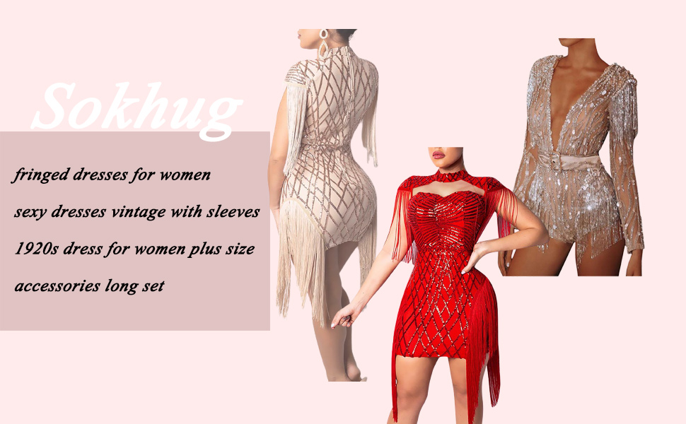 Fringed Dresses