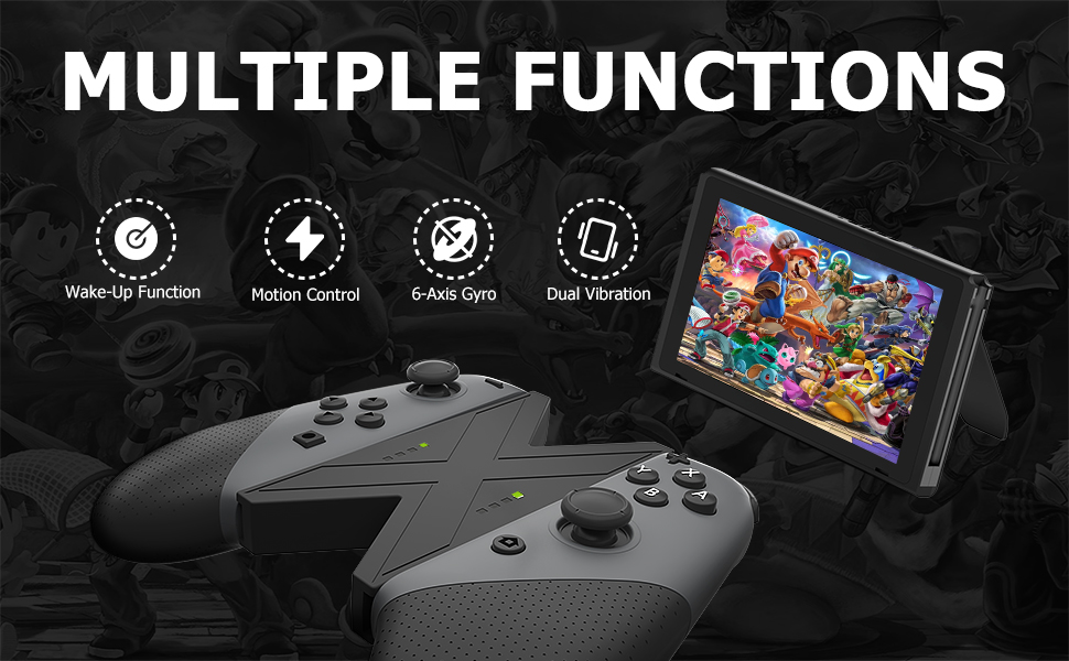 switch controller Mutiple function