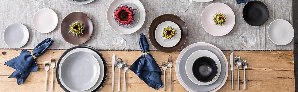 Fortessa Vitraluxe Heirloom Dinnerware Collection Image