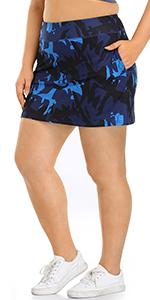 tennis skirt skort for women plus size