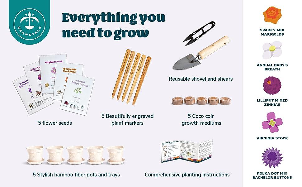 art kits for kids gift flower seeds boys toys gardening kit girls arts and crafts kids gardening set