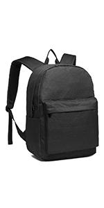 Kono Rucksack Schule Unisex Leichten Canvas Backpack für Reise Wandern,Schulrucksack mit 15.4