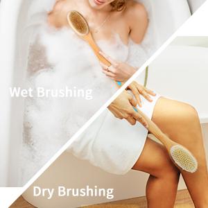 Wet or Dry Body Brushing