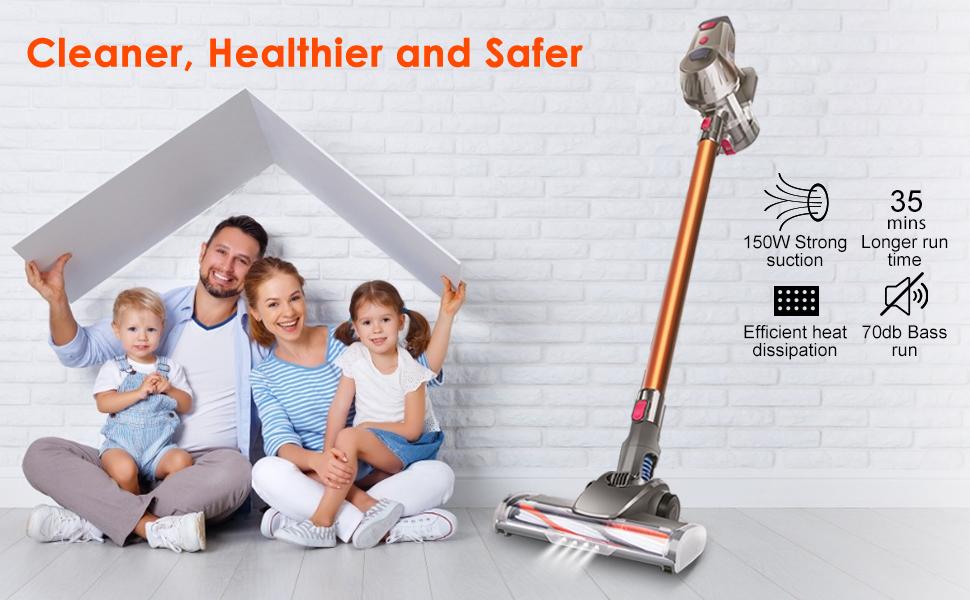 Introducing Cordless Stick Vacuum Cleaner