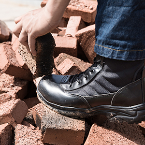 NORTIV 8 Menamp;#39;s Safety Steel Toe Work Boots