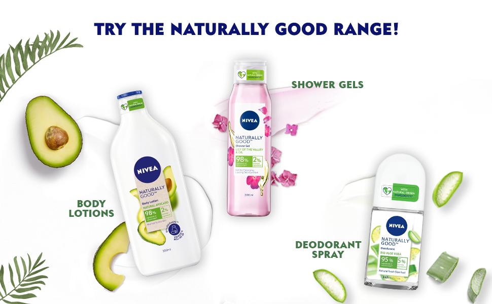 NIVEA,Women,Deodorant,Green Tea,Natural, Fresh, Fragrance