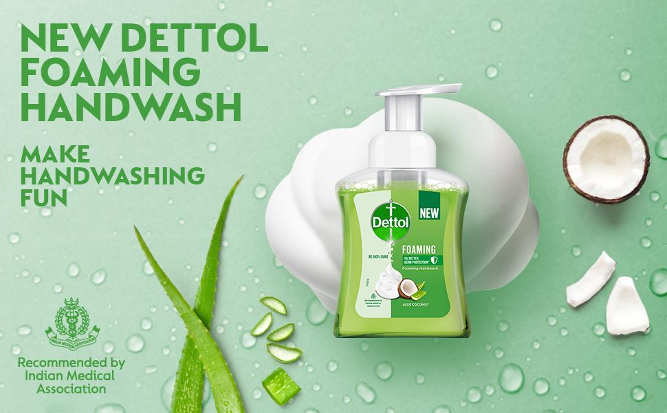 Dettol Foaming Handwash
