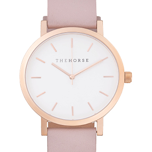 The Horse The Original Premium Leather Watch Stainless Steel Core