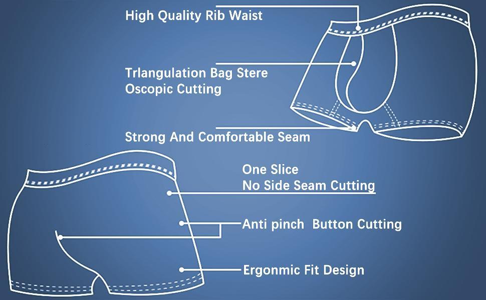modal ultra soft brathing boxers brief underwear