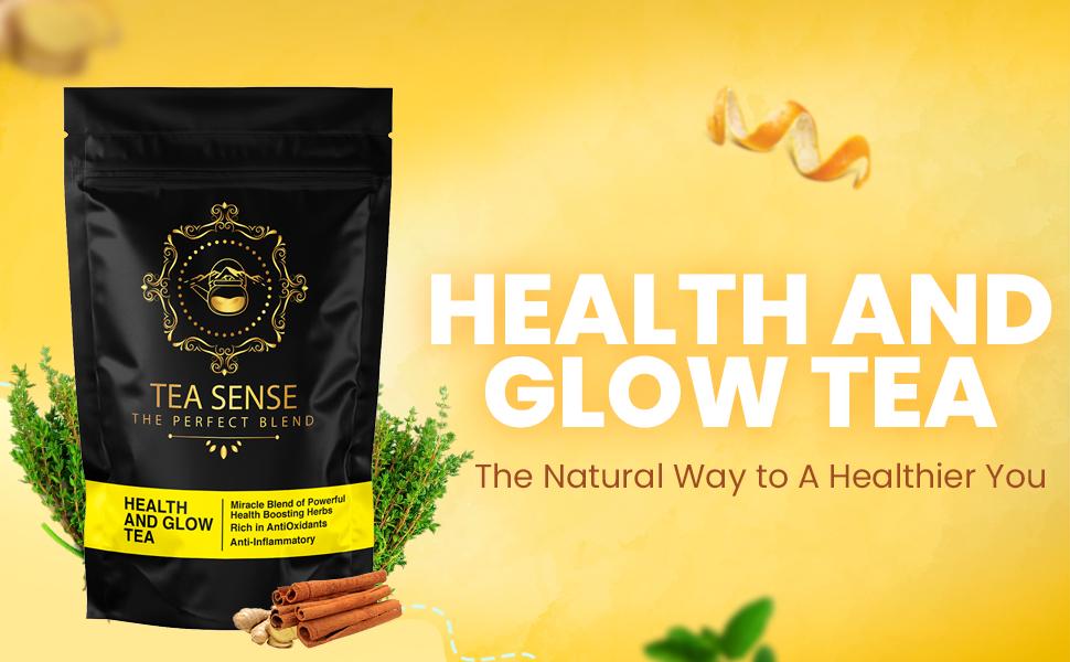 tea sense health and glow tea the best tea for radiant glowing skin