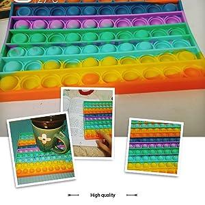Rainbow Square Popular Stress Relieving Fidget Sensory Toy