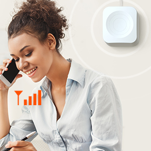 Indoor antenna broadcasts these signal for use throughout your room.