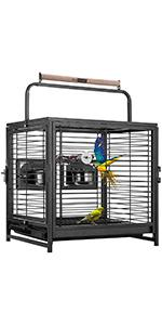 bird travel carrier cage
