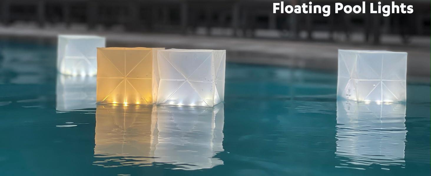 Floating Pool Lights