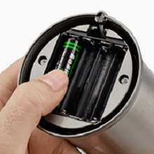 Install 4 AAA batteries