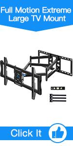 Full Motion Extreme Large TV Mount