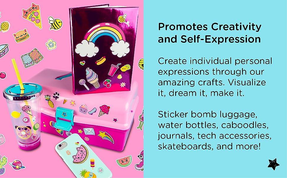 Fashion Angels, tween, teen, children, stickers, arts and crafts, DIY, kit, sticker books, crafts